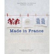 Made in France: Cross-Stitch and Embroidery in Red, White and Blue by Agn