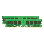 Kingston ValueRAM - DDR2 - 8 Go : 2 x 4 Go - DIMM 240 broches - 400 MHz / PC2-3200 - CL3 - 1.8 V - mémoire enregistré - ECC - pour SUPERMICRO H8DA6+, H8DA6+-F, H8DAi+, H8DAi+-F\; A+ Server 20XX...