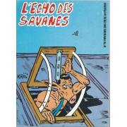 L'écho Des Savanes N° 73 ( Février 1981 ) : Goldorette + Edmond Le Cochon ( ... Va En Afrique ) + Barbarella + The Fabulous Furry Freak Brothers + Etc ...