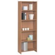 Polcos könyves szekrény 60,7 x 24,4 x 185 cm Cseresznye BIBLIO 985051