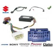 COMMANDE VOLANT Suzuki Grand Vitara 2011- - Pour Pioneer complet avec interface specifique