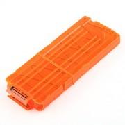 VERY100 NERF Clip Quick-Reload - recarga para reservar 12 dardos,naranja