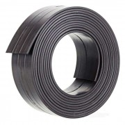 2000 x 25 x 1.5mm DIY Single Sided Flexible Magnetic Strip Tape Rubber Magnet for Office & School