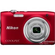 Aparat foto Nikon Coolpix A100, roşu