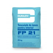 Duraziv FP 21 tencuiala ipsos mecanizata