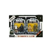 Star Wars Episode VI 6 Collectible Tin Action Figure Set RETURN OF THE JEDI with 4 Action Figures: B