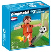 PLAYMOBIL Netherlands Player Soccer Toy