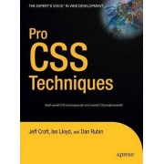 Pro CSS Techniques by Ian Lloyd