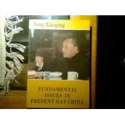 Deng Xiaoping - Fundamental Issues In Present Day China - Lot De Un Livre