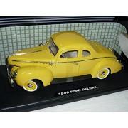 Ford deluxe Coupé Giallo 1940 hot Rod Oldtimer 1/18 Motor Max Modellino Auto modello Auto