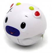 Rolling Tumbling Ball Doll Toy Set From Verzabo That Makes Cute Sound Effects As It Rolls Around And Is Easily Powered By Batteries