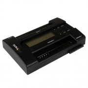 Startech.Com Dock Duplicatore per Dischi Rigidi Indipendente USB a IDE SATA, Nero/Antracite