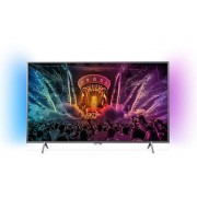 "Televizor LED Philips 43"" (109 cm) 43PUS6201/12, Ultra HD 4K, Smart TV, Ambilight, WiFi, CI+ + Voucher Cadou 50% Reducere ""Scoici in Sos de Vin"" la Restaurantul Pescarus"