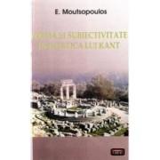 Forma si subiectivitate in estetica lui Kant - E. Moutsopoulos