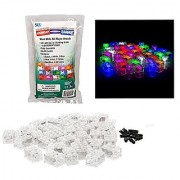 Light Up Building Bricks with On/Off and Dim Ability- Multicolor Lights of 40 Pieces - Tight Fit with All Major Brands
