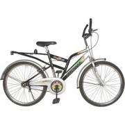 Addo India 24 Aligator Black Silver MTB Bicycle