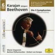 L.V. Beethoven - Symphonies 1-9/ Overtures (0028944299243) (6 CD)