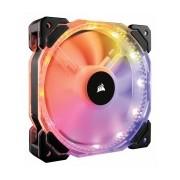 Ventilador Corsair HD120 RGB, 120mm, 800-1725RPM, Negro