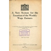 A New System For The Taxation Of The Weekly Wage Earners