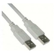 CABLE USB TIPO A/M - A/M 2 M