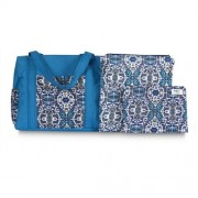 Chele and Maye Paisley Blue Nappy Bag