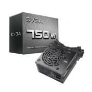 Fuente de Poder EVGA 100-N1-0750-L1, 20+4 pin ATX, 120mm, 750W