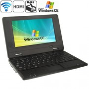 7.0 inch Windows CE Notebook PC EPC 701 CPU: VIA WM8850 A9 1.5GHz(Black)