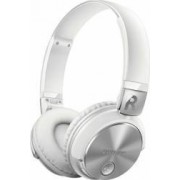 Casti Bluetooth Philips SHB3185WT00 NFC Albe