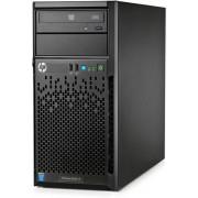 "Server HP ProLiant ML10 v2 (Intel Pentium G3240, 1x4GB @1600MHz, No HDD, Maxim 4x3.5"", 350W PSU)"