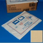 Kötény (LDPE) fehér, Ulith (fóliakötény)