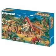 playmobil 5004 mega set casa del guardabosques