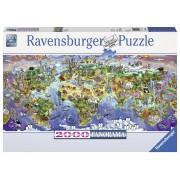 Ravensburger puzzle minunile lumii, 2000 piese