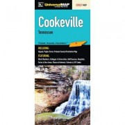 Universal Map Cooke Tennessee Fold Map (Set of 2) 12055