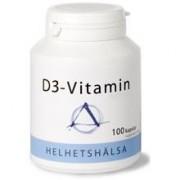Helhetshälsa D3-vitamin 1000 IE 100 kapslar