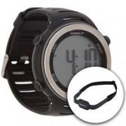 Speedo Monitor Cardíaco Speedo 66001G0 com Cinta de Transmissão - PRETO