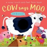 Cow Says Moo by Amanda Enright