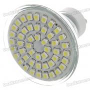 GU10 3.5W 48-SMD LED 140 Lumen 3200K chauffent l'ampoule de lampe de lumière blanche (230)