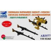 Bronco Models German Infrared Night-Vision Devices Infrarot-Scheinwerfer Model Kit