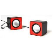 Media-Tech MT3140R 2.0 FADO (negru-roșu)