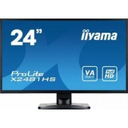 Monitor LED 23.6 Iiyama Prolite X2481HS-B1 Full HD 6ms Negru