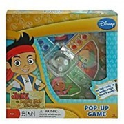 Disney Jake and Never Land Pirates Trouble Race-and-chase Pop-up Bubble Childrens Board Game by Disney