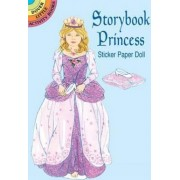 Storybook Princess Sticker Pap Doll by Barbara Steadman