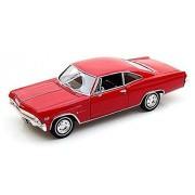 1965 Chevrolet Impala SS396 Coupé [Welly 22417], Rojo, 1:24 Die Cast