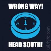 T-shirt Wrong Way
