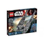 Lego Star Wars Kylo Rens Command Shuttle With Instructions Only. No Minifigures/Accessories. 75104