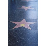 Hollywood Walk of Fame Journal Star: 150 Page Lined Notebook/Diary