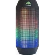 Boxa portabila Bluetooth The Beat 400 LED Neagra