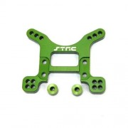 ST Racing Concepts STA80097FG Aluminum Heavy Duty Front Shock Tower for The Exo Buggy, Green