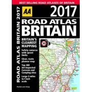 AA Road Atlas Britain 2017