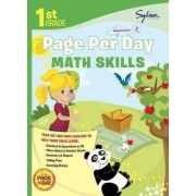 First Grade Page Per Day by Sylvan Learning